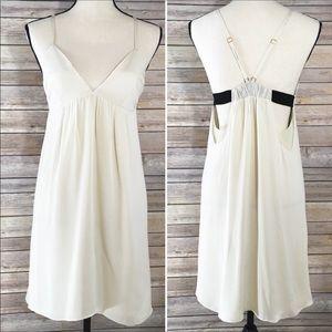 Alice + Olivia V Neck Slip Sundress Dress S